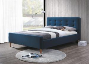 Oblazinjena postelja KONI 160x200