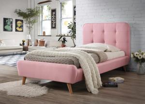Oblazinjena postelja ALEXIA 200x90 cm