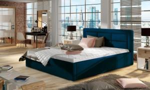 Oblazinjena postelja SORA 2 140x200