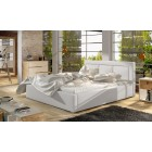 Oblazinjena postelja KARIN 180x200
