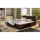 Oblazinjena postelja KARIN 200x200