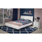 Oblazinjena postelja SEMARA 180x200