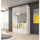 Garderobna omara z drsnimi vrati ARIANA 4 130