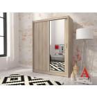 Garderobna omara z drsnimi vrati ARVIN 150