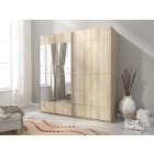 Garderobna omara z drsnimi vrati KIM 150