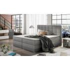 Oblazinjena postelja DAMA 140x200
