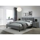 Oblazinjena postelja SEMARA 160x200