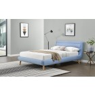Oblazinjena postelja LANDA 160 x 200