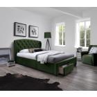 Oblazinjena postelja BRINA 160x200