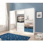Garderobna omara z drsnimi vrati IRENA 250