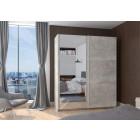 Garderobna omara z drsnimi vrati END 170