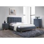 Oblazinjena postelja SELENA 160x200 cm