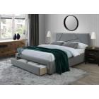 Oblazinjena postelja VALERI 160x200