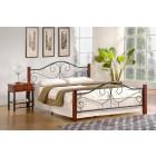 Kovinska postelja VIOLETA 140x200