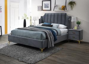 Oblazinjena postelja MONACO 160x200