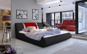 Oblazinjena postelja NELI 160x200