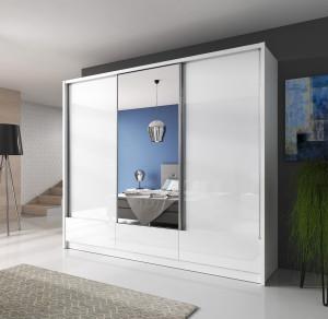 Garderobna omara z drsnimi vrati ARIANA 2 250