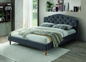 Oblazinjena postelja FARAON 160x200