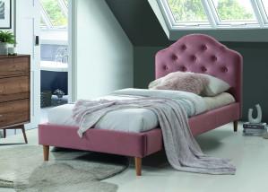 Oblazinjena postelja FARAON 90x200