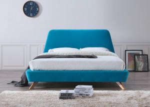 Oblazinjena postelja NAGO 160x200cm